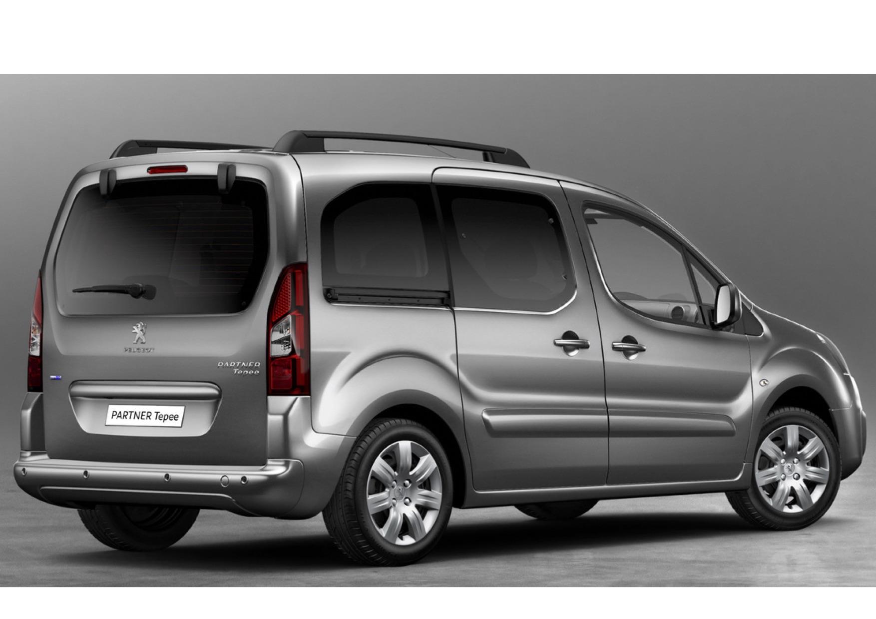 Peugeot Partner Minibus 7 seater