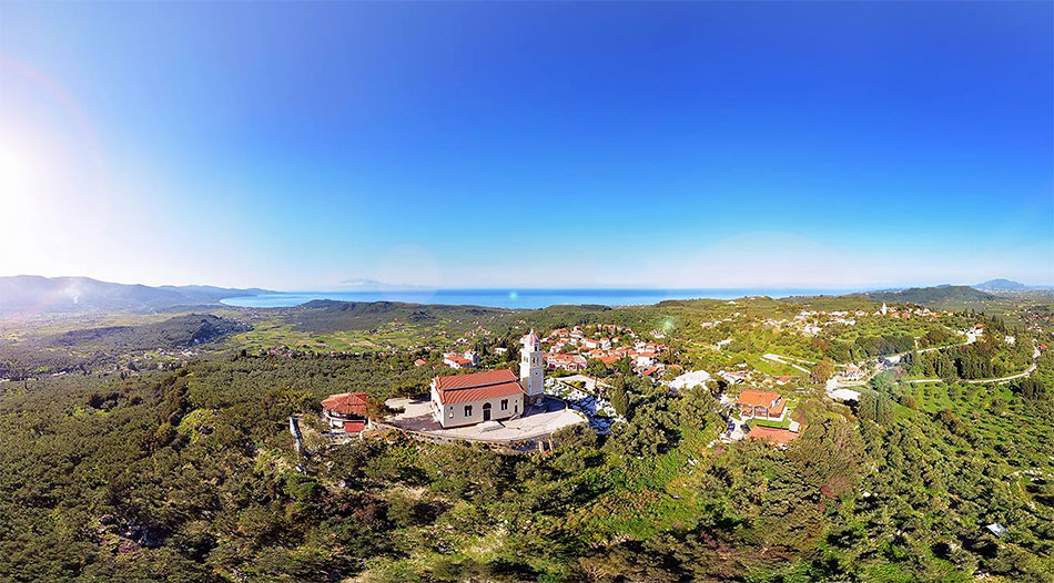 Agios Nikolaos kerk bij Ano Gerakari zante zakynthos