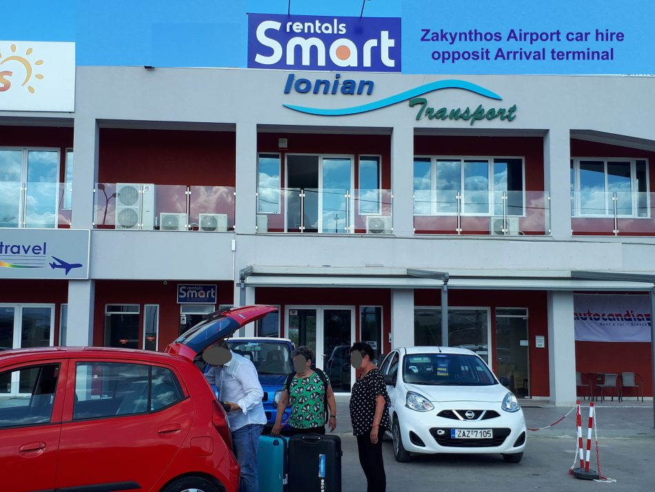 Zakynthos airport car hire