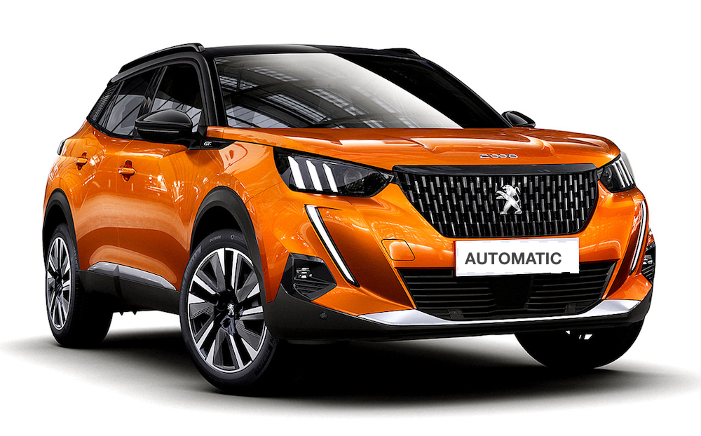 New Peugeot 2008 automatic - 2021 Model, 8 gears